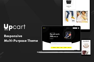 Upcart - Free Responsive Multi-Purpose WordPress Theme